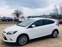 "USED 2014 FORD FOCUS 1.6 ZETEC TDCI 5d 113 BHP APPEARANCE PACK Appearance pack - 17"" Alloys / Rear privacy glass, Full service history"