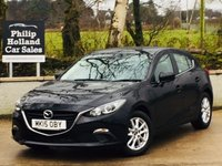USED 2015 15 MAZDA 3 2.2 D SE 5d 148 BHP Only 13400 miles, Bluetooth, Touchscreen Audio system