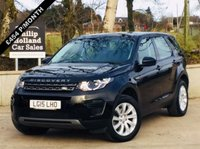 USED 2015 15 LAND ROVER DISCOVERY SPORT 2.2 SD4 SE 5d 190 BHP 4X4 7 SEATS 7 SEATS, BLACK LEATHER, HEATED FRONT SEATS