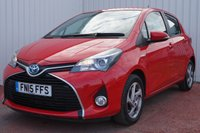 USED 2015 15 TOYOTA YARIS 1.5 HYBRID ICON 5d AUTO 73 BHP 1 FORMER OWNER