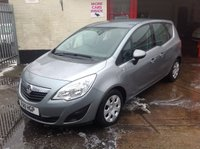 USED 2011 VAUXHALL MERIVA 1.4 s 5 door mpv Low mileage great value mpv, superb,