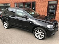 USED 2008 08 BMW X5 3.0 D SE 5d AUTO 232 BHP Full leather upholstery, Electrically adjustable driver and passenger seats,      Front and rear parking sensors