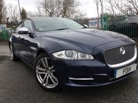 USED 2011 11 JAGUAR XJ 3.0 D V6 PREMIUM LUXURY SWB 4d 275BHP FSH+2KEYS+PANO GLASS SUNROOF+