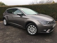 2015 SEAT LEON 1.6 TDI SE TECHNOLOGY 5d 110 BHP OUTSTANDING CONDITION THROUGHOUT, ONLY £20 ROAD TAX, EXCELLENT MPG  £7879.00