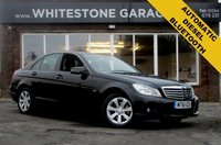 USED 2012 61 MERCEDES-BENZ C CLASS 2.1 C220 CDI BLUEEFFICIENCY SE 4d 168 BHP 2 OWNERS FSH, BLUETOOTH, FRONT AND REAR PARKING SENSORS DIESEL AUTOMATIC, ONLY £115 A YEAR ROAD TAX