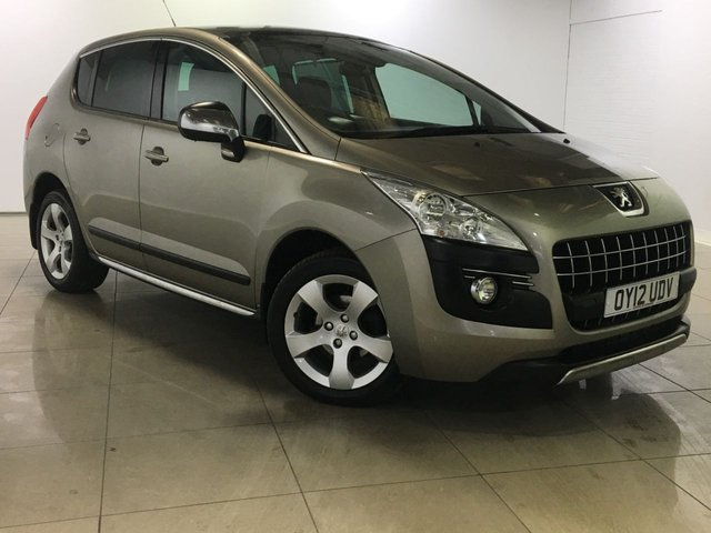 View our 2012 12 PEUGEOT 3008 1.6 EXCLUSIVE HDI 5d 112 BHP