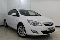 USED 2011 61 VAUXHALL ASTRA 1.4 EXCITE 5DR 98 BHP FULL SERVICE HISTORY + BLUETOOTH + CRUISE CONTROL + MULTI FUNCTION WHEEL + AIR CONDITIONING + 17 INCH ALLOY WHEELS