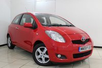 USED 2010 59 TOYOTA YARIS 1.3 TR VVT-I 3DR 99 BHP SERVICE HISTORY + MULTI FUNCTION WHEEL + RADIO/CD + AUXILIARY PORT + AIR CONDITIONING