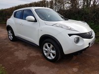 USED 2010 60 NISSAN JUKE 1.6 ACENTA 5d 117 BHP **SUPERB DRIVE**GREAT CONDITION**2 OWNERS**