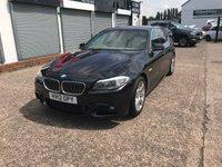 2012 BMW 5 SERIES 2.0 520D M SPORT 4d AUTO 181 BHP