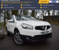USED 2012 12 NISSAN QASHQAI 1.5 TEKNA DCI 5d 110 BHP 32,880 MILES, ONE OWNER, 360 VISION REVERSING CAMERA, FULL LEATHER WITH HEATED SEATS, PANORAMIC ROOF, BLUETOOTH CONNECTIVITY, BOSE SOUND SYSTEM + MUCH MORE!