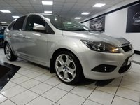 USED 2008 08 FORD FOCUS 1.8 TDCI TITANIUM 115 BHP 8 FORD MAIN DEALER STAMPS NAV! LONG MOT!