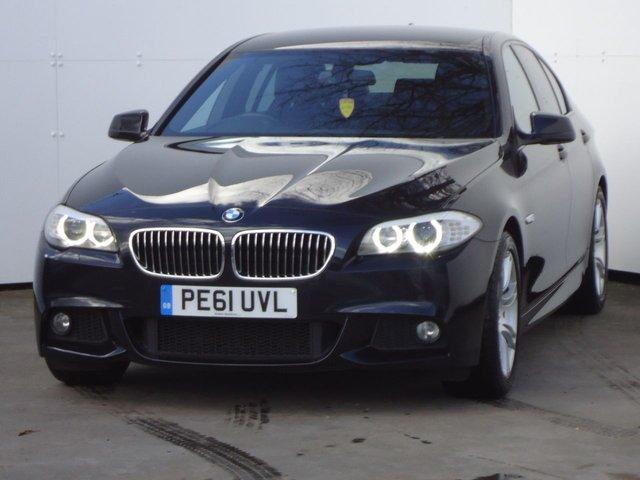 2011 61 BMW 5 SERIES 2.0 520D M SPORT 4d AUTO 181 BHP
