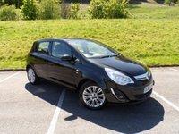 2012 VAUXHALL CORSA 1.4 SE 5d 98 BHP £4990.00