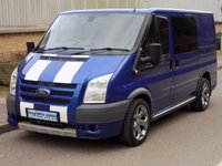 2007 FORD TRANSIT SPORT 2.2 FWD 260 SWB LOW ROOF 130 BHP £6495.00