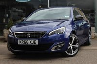 USED 2016 66 PEUGEOT 308 1.6 BLUE HDI S/S GT LINE 5d 120 BHP
