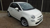 USED 2016 16 FIAT 500 1.2 POP STAR 3dr £20/Year Tax, 1 Owner, FSH