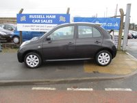 USED 2008 08 NISSAN MICRA 1.2 ACENTA PLUS 5d 78 BHP Service History .New MOT & Full Service Done on purchase + 2 Years FREE Mot & Service Included After . 3 Months Russell Ham Quality Warranty . All Car's Are HPI Clear . Finance Arranged - Credit Card's Accepted . for more cars www.russellham.co.uk  - Spare Key & Book Pack.