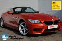 USED 2014 14 BMW Z4 2.0 Z4 SDRIVE28I M SPORT ROADSTER 2d 242 BHP 1 OWNER +F/BMW/SH +PARK ASSIST