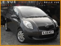 USED 2008 08 TOYOTA YARIS 1.3 TR VVTI 5d 86 BHP *ONLY 49K MILES, MUST SEE*
