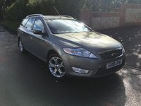 2010 FORD MONDEO 2.0 TITANIUM TDCI 5d 140 BHP PLEASE CALL TO VIEW £SOLD