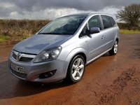 USED 2010 60 VAUXHALL ZAFIRA 1.8 SRI 5d 138 BHP **SUPERB DRIVE**GREAT CONDITION**