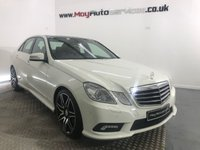 2011 MERCEDES-BENZ E CLASS 2.1 E250 CDI BLUEEFFICIENCY SPORT 4d 204 BHP £13495.00