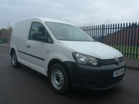 2013 VOLKSWAGEN CADDY 1.6 C20 TDI BLUEMOTION 102 1d 101 BHP £5200.00
