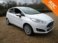 USED 2014 64 FORD FIESTA 1.0 TITANIUM 5d 99 BHP Bluetooth, USB Connection , DAB Radio