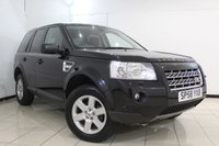 USED 2008 58 LAND ROVER FREELANDER 2.2 TD4 GS 5DR AUTOMATIC 159 BHP FULL SERVICE HISTORY + CRUISE CONTROL + MULTI FUNCTION WHEEL + CLIMATE CONTROL + RADIO/CD + 17 INCH ALLOY WHEELS