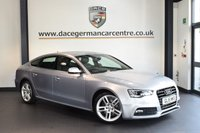 USED 2015 15 AUDI A5 2.0 SPORTBACK TDI S LINE 5DR AUTO 177 BHP SAT NAV full leather bluetooth + FULL LEATHER INTERIOR + AUDI SERVICE HISTORY + SATELLITE NAVIGATION + SPORT SEATS + BLUETOOTH + ELECTRIC MIRRORS + 18 INCH ALLOY WHEELS +