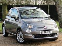 2016 FIAT 500 1.2 LOUNGE 3d 69 BHP £8490.00