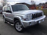 2007 JEEP COMMANDER 3.0 V6 CRD LIMITED 5d AUTO 215BHP £6290.00