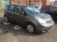USED 2012 NISSAN NOTE 1.4 DCI VISIA TURBO DIESEL MPV,  EXCEPTIONALLY CHEAP TO RUN!..£30 ROAD TAX ..LOW CO2 EMISSIONS!..FULL NISSAN SERVICE HISTORY(6 SERVICES AT 6 MAIN DEALERS)..ONLY 18967 MILES FROM NEW!!