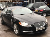 USED 2010 60 JAGUAR XF 3.0 V6 LUXURY 4d 240 BHP *7 JAGUAR DEALER STAMPS*