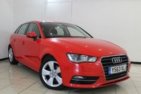 USED 2014 63 AUDI A3 2.0 TDI SPORT 5DR 148 BHP FULL AUDI SERVICE HISTORY + BLUETOOTH + CRUISE CONTROL + MULTI FUNCTION WHEEL + CLIMATE CONTROL + 17 INCH ALLOY WHEELS