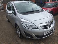 USED 2013 13 VAUXHALL MERIVA 1.4 TECH LINE 5 DOOR 99 BHP IN SILVER WITH ONLY 29000 MILES APPROVED CARS ARE PLEASED TO OFFER THIS VAUXHALL MERIVA 1.4 TECH LINE 5 DOOR 99 BHP IN SILVER WITH ONLY 29000 MILES IN IMMACULATE CONDITION INSIDE AND OUT WITH A FULL SERVICE HISTORY SERVICED AT 4K,11K,17K AND 24K A GREAT LITTLE LOW MILEAGE RUNAROUND.