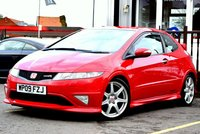 USED 2009 09 HONDA CIVIC 2.0 I-VTEC TYPE-R GT 3d 198 BHP Full Service History 8 Stamps, Fantastic condition vehicle