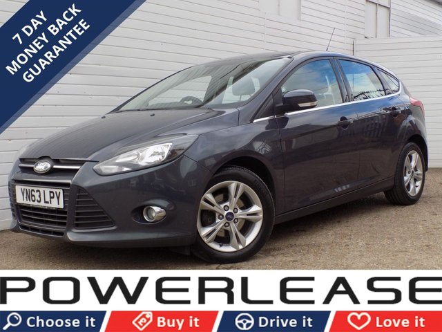 USED 2013 63 FORD FOCUS 1.6 ZETEC ECONETIC TDCI 5d 104 BHP FREE ROAD TAX HEATED SCREEN