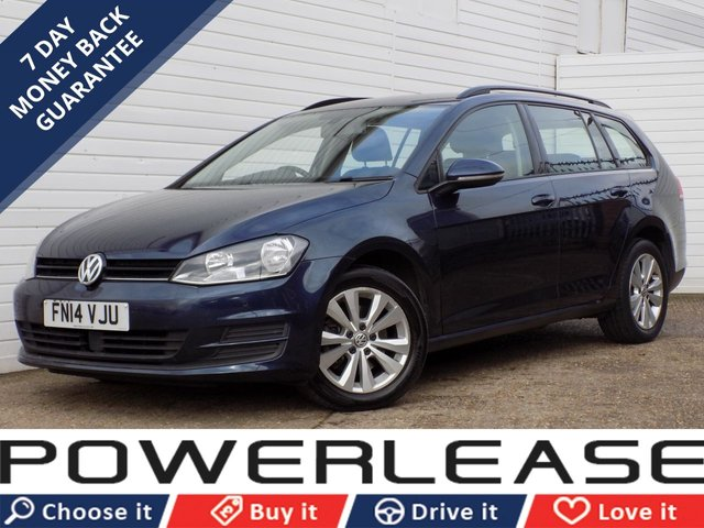 USED 2014 14 VOLKSWAGEN GOLF 1.6 SE TDI BLUEMOTION TECHNOLOGY 5d 103 BHP 20 POUND TAX START/STOP