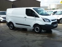 2016 FORD TRANSIT CUSTOM 2.0TDCi  T290 L1 H1 105 BHP - Air con bluetooth Dab Radio and much more £12995.00