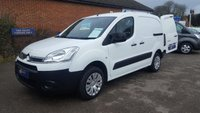 2013 CITROEN BERLINGO 850 L1 LX WITH 3 SEAT CAB. ONLY 23,000 MILES  £6295.00