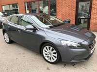 USED 2014 14 VOLVO V40 1.6 D2 SE LUX NAV 5d 113 BHP Full service history, Full leather upholstery,    Heated front seats,    Heated screen,    Bluetooth,    DAB Radio,    Rear parking sensors