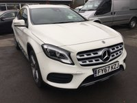 USED 2017 67 MERCEDES-BENZ GLA-CLASS 2.1 GLA 220 D 4MATIC AMG LINE PREMIUM 5d AUTO 174 BHP IN WHITE WITH ONLY 3000 MILES APPROVED CARS ARE PLEASED TO OFFER THIS MERCEDES-BENZ GLA-CLASS 2.1 GLA 220 D 4MATIC AMG LINE PREMIUM 5d AUTO 174B IN WHITE IN IMMACULATE CONDITION WITH A HUGE SPEC INCLUDING SAT NAV,CRUISE CONTROL AND SO MUCH MORE WITH A SUPER LOW MILEAGE THIS CAR IS LIKE A NEW CAR AND IS THE CURRENT UP TO DATE MODEL..