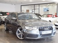 USED 2014 64 AUDI A6 SALOON 2.0 TDI ULTRA S LINE BLACK EDITION 4d AUTO 188 BHP SAT NAV+HEATED-LEATHER+BOSE+