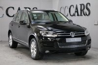 USED 2011 11 VOLKSWAGEN TOUAREG 3.0 V6 SE TDI BLUEMOTION TECHNOLOGY 5d AUTO 237 BHP SAT NAV, FULL CORN SILK BEIGE HEATEAD LEATHER SEATS, FULL DOCUMENTED SERVICE HISTORY, BLUETOOTH TELEPHONE CONNECTIVITY, FRONT AND REAR PARK DISTANCE CONTROL, HEATED ELECTRIC POWERFOLD MIRRORS, 18 INCH ALLOY WHEELS, ON-BOARD COMPUTER