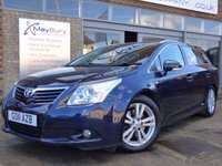 USED 2011 11 TOYOTA AVENSIS 2.2 T4 D-CAT 5d AUTO 148 BHP DIESEL AUTOMATIC T4 MODEL WITH FULL SERVICE HISTORY