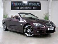 2013 BMW 3 SERIES 3.0 325I M SPORT 2d AUTO 215 BHP £14980.00