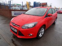 USED 2013 63 FORD FOCUS 1.6 ZETEC 5d 104 BHP
