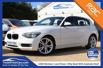 2014 BMW 1 SERIES 1.6 114D SE 5d 94 BHP £8950.00